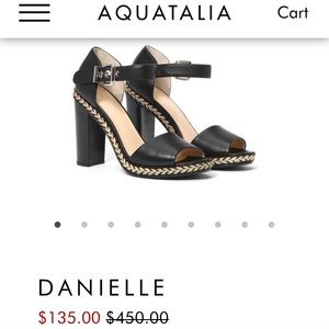 aquatilia block heels